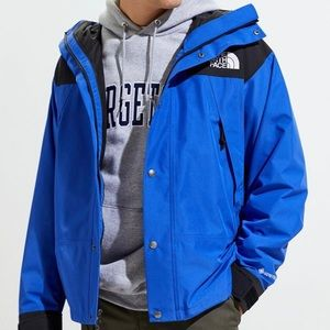 Vintage The North Face Gore-Tex fleece-lined coat.